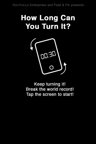 Screenshot How Long Can You Turn It?